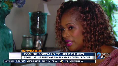 Sexual abuse survivor shares story, hopes to help others break silence