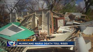 Hurricane Maria death toll rises - Video