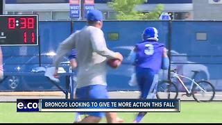 2nd Day Bronco Fall Camp News and Notes - Video