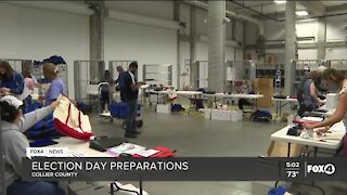 Collier County prepares for Election Day amid COVID-19