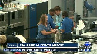 TSA is hiring at Denver International Airport