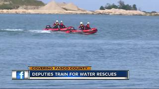 Deputies train for water rescues - Video