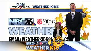 Weather kid Lucy