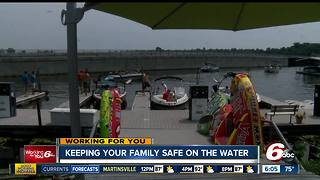 Keeping your family safe on the water this Summer - Video