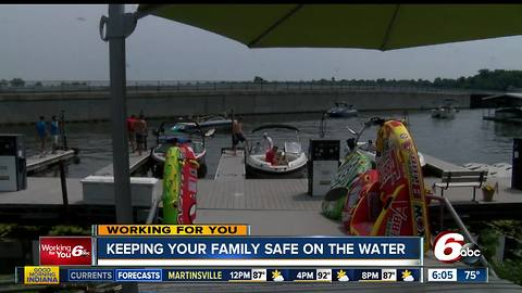 Keeping your family safe on the water this Summer