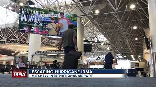 Some Floridians seek shelter from Irma in Wisconsin - Video
