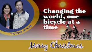Changing the world, one bicycle at a time