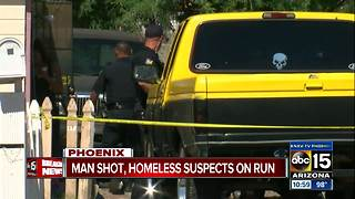 Man shot in front of house near 31st Avenue/Indian School Road - Video