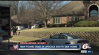 Elderly man found dead in upscale south side Indy home - Video