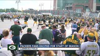Preseason jolts Packers fans back into football mode - Video