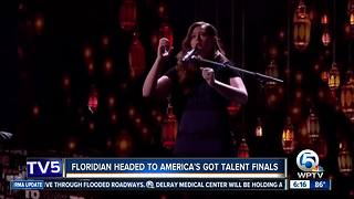 Floridian headed to America's Got Talent finals - Video