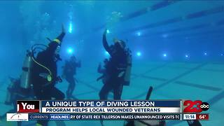 Local veterans recovering from PTSD through scuba diving - Video