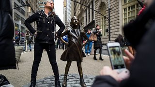 We'll Soon Know The Fate Of Wall Street's 'Fearless Girl' Statue - Video