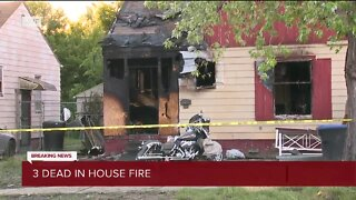 3 killed in house fire in Detroit