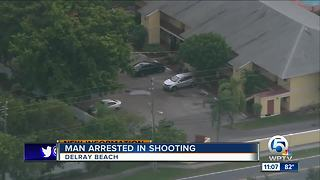 Arrest made in Delray Beach shooting
