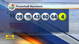Winning Powerball Numbers For Aug. 16, 2017 - Video