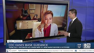 Health Insider discusses what new CDC mask-lifting guidance means for us