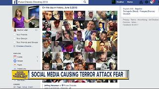 Social media making more people fearful of terrorist attacks - Video