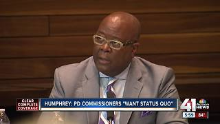 KCPD chief finalist: Board wants 'status quo' - Video