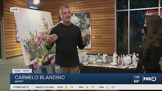 Live paintings happening at Naples Botanical Garden through Wednesday