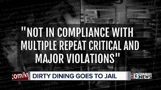 Dirty Dining goes to Clark County Detention Center - Video