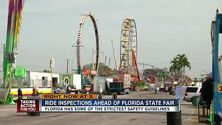 Ride inspections ahead of Florida State Fair - Video