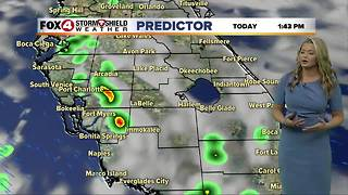 FORECAST: Scattered Showers and Storms Continue