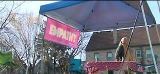 Woman in Wisconsin creates Empathy Booth to talk in safe space