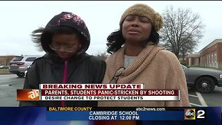 Students, families react after Maryland school shooting - Video
