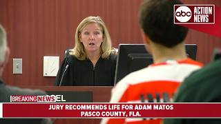 Judge sentences Adam Matos to life in prison - Video