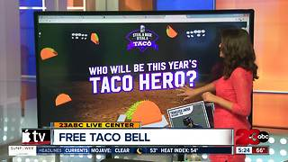 Free Taco Bell During World Series - Video