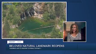 Trail to Hanging Lake to reopen May 1, 2021