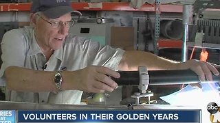 Volunteers in their golden years - Video