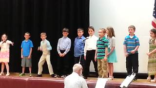 Little Boy Goes Extra Crazy During School Play