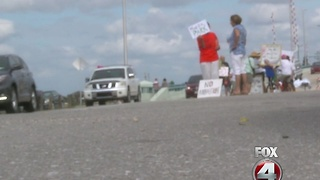 Matlacha residents protest recent Cape Coral annexation vote - Video
