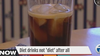New research finds diet drinks not 'diet' after all - Video