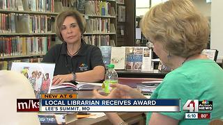Book club leader wins Mid-Continent Public Library award