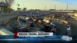 U.S. issues Mexico travel advisory due to crime and kidnapping