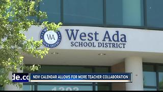 West Ada calendar allows more time for teachers - Video