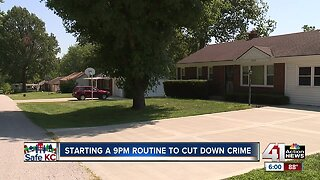 Local police urge residents to adopt a 9PM routine