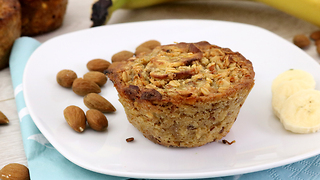 Banana almond cupcake recipe - Video