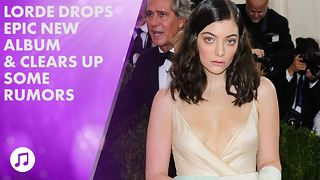 Lorde reveals who's behind that onion rings Instagram - Video
