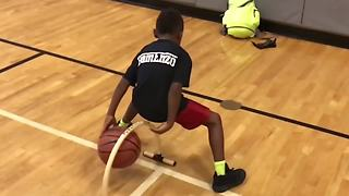 6-Year-Old Enzo Lee Shows Off Elite Ball Handling Skills - Video