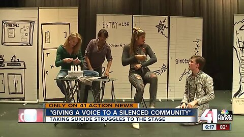 'Nap the Play,' which takes aim at teen suicide, comes to Kansas City