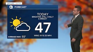Metro Detroit Forecast: Getting warmer each day this week