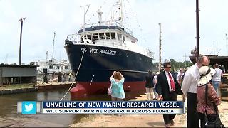 New USF vessel to study marine life, pollution - Video