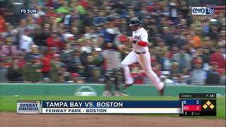 Eight is enough: Boston Red Sox snap Tampa Bay Rays' winning streak with 4-3 win - Video