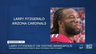 Larry Fitzgerald opens up on racial tensions in America