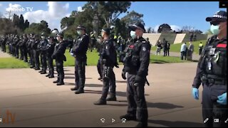 Part1 9-5-20 Australia Protests Victoria Melbourne Coronavirus Covid-19 Lockdows Quarantine Pandemic