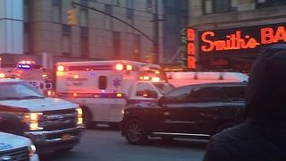 Explosion Reported at Port Authority Bus Terminal in Manhattan - Video